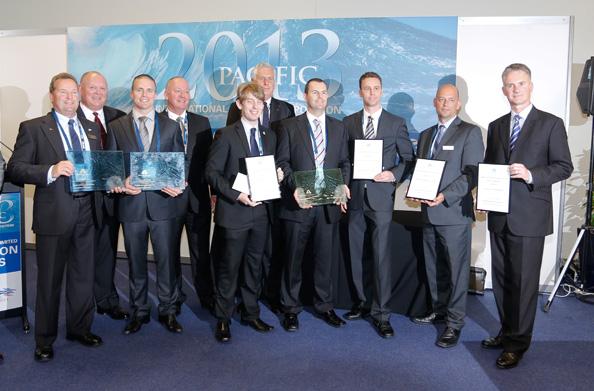 Pacific 2013 Winners