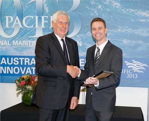 Dr Tom Loverard receives award